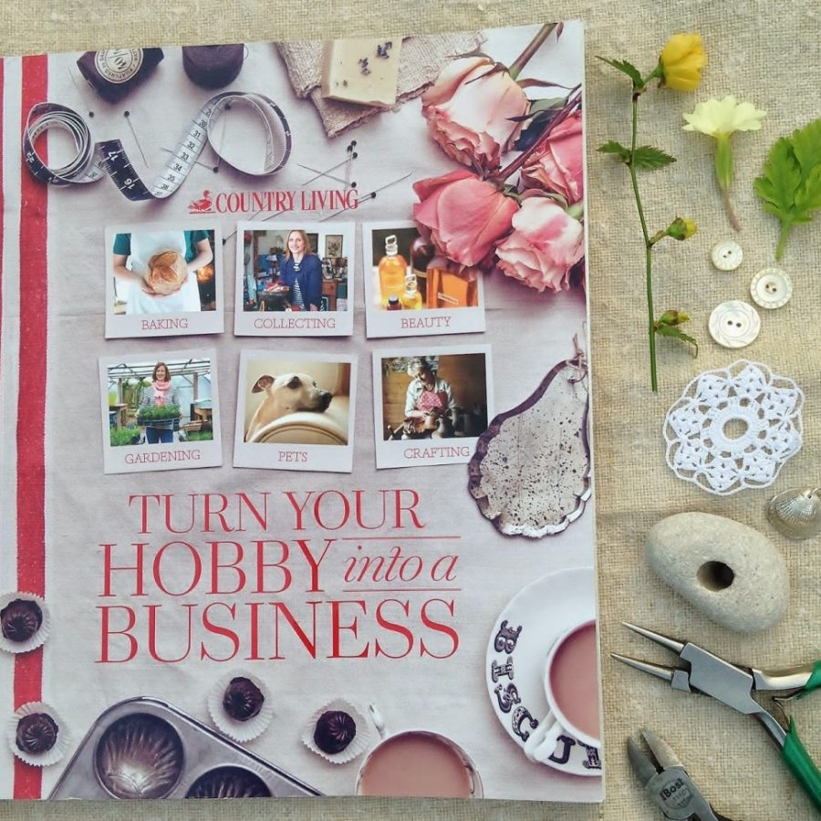 Country Living: 'Turn Your Hobby into a Business' (necklace giveaway)
