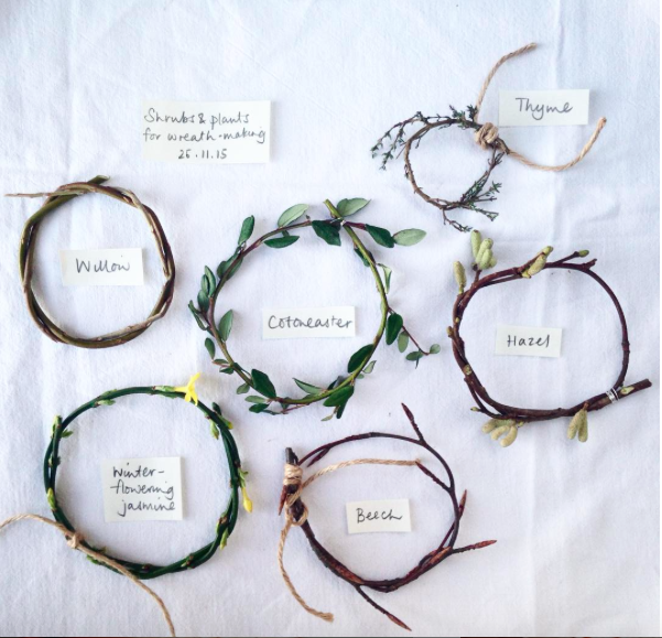 Making winter: preserving and foraging plants for handmade decorations