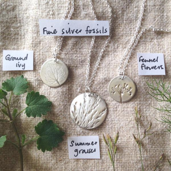 My creative process: making jewellery with silver clay