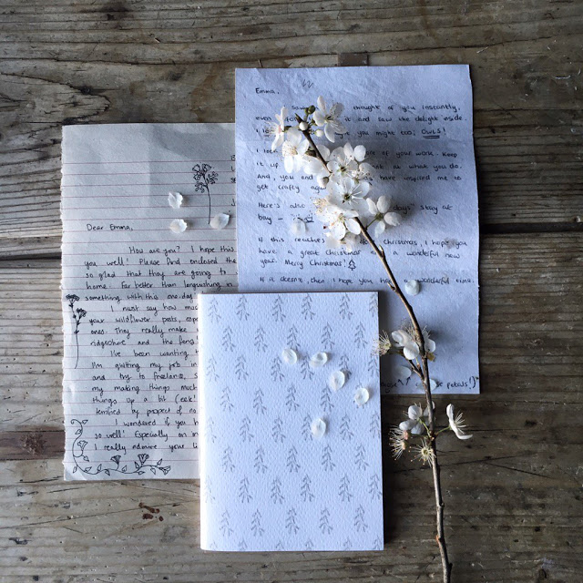 Write a letter by hand