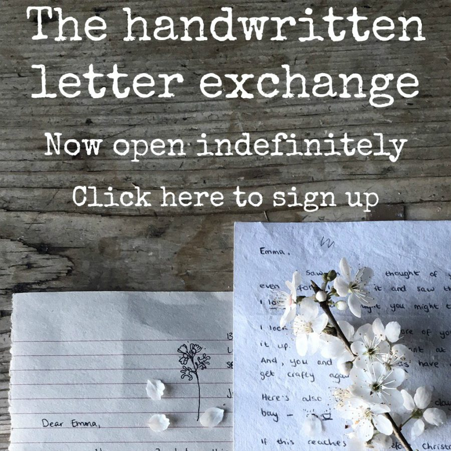 The letter exchange…continuing